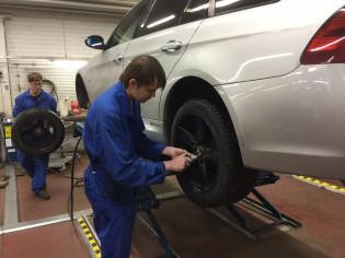 Auton huolto- ja korjauspalvelut | Turun ammatti-instituutti