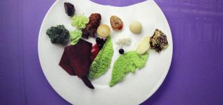Lasten suunnittelema ruoka-annos